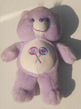 """2003 Modern Care Bears-share Bear - 13"""" Peluche Toy (CK01)"""