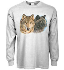 Wolves Wolf T-shirt Mens Graphic Tee Clothing Apparel Wildlife Design