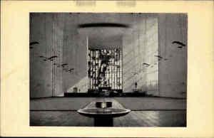 SCHWEINFURT Heimatbeleg im Postkarten-Format ~1954 Innen-A. St. Kilian Kirche