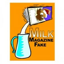 Vanishing Liquid Milk Disappearing From Fake Paper Magazine Gimmick Magic Trick