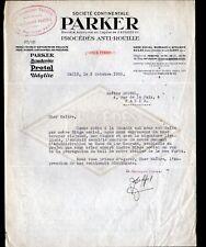 """CLICHY-LA-GARENNE (92) ATELIER / Procédé ANTI-ROUILLE """"PARKER"""" en 1935"""
