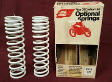 NOS RED WING REAR OIL CUSHION UNIT OPTIONAL SPRINGS 70-100LBS QTY 2