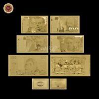 WR Série 1994 Billet de France Or Ensemble de 6 Pièces Argent Collection Francs