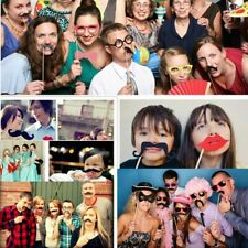 58Pcs/Set Photo Booth Props Frame Happy Wedding Party Hen Party Selfie Supplies
