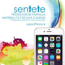 """Láminas Protector de Pantalla Iphone 6 (4,7"""") (frontales y traseras) - SENTETE-"""