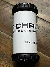 Chris King Threadfit 24 Matte Jet (Black) Bottom Bracket
