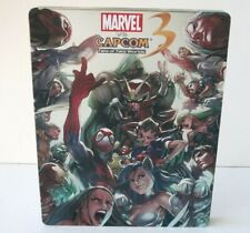 Marvel vs Capcom 3 Steelbook Case Only NO GAME PlayStation 3 PS3 Fate Two Worlds