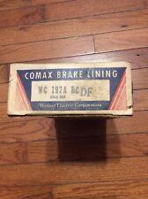 1946-1953 DESOTO-DODGE CARS & TRUCKS BRAKE LINING WC192A NEW OLD STOCK