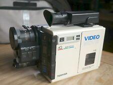 Rare Toshiba SK-60P Video Camcorder w/ Original Bag w/ NEW Tapes | Needs Repair