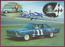 "Ned Jarrett, NASCAR Driver, Signed 7"" x 5"" Photo, COA, UACC RD 036"