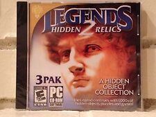legends 2 --- 3-pack of hidden object adventures --- computer games --- new