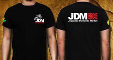 Eat Sleep JDM Japanese Domestic Market CIVIC, ACCORD, Car Racing Cotton T-SHIRT
