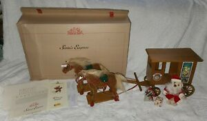 Steiff Santa's Express In Box, #037986, Limited Edition, 2002 Pieces Made