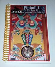 2015 Mr Pinball Price Guide For Pinball Machines Baseball Bingo Free Ship! New!