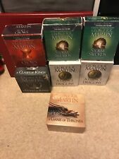 George RR Martin Game Of Thrones Audio Books Cds - Complete Collection 162 Cds