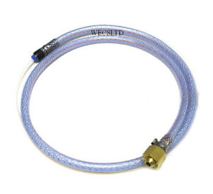 Adaptor Pipe for Disposable Regulator to Mig Welder 4mm gas pipe