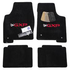 2004-2008 Pontiac Grand Prix GXP Floor Mats - 32 oz Carpet - Two Color Logos -