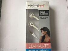 Sonido Digital Super Auriculares estéreo para iPod iPhone Móvil Mp3 Diamante