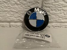 Replacement BMW 82mm Bonnet Badge Brand NEW e36 e46 e90 e92 e93 E53 e70 X5 X3 M3