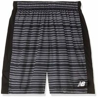 New Balance Mens Accelerate Graphic Shorts, Black Multi, Medium