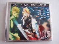 CD MYLENE FARMER , LIVE A BERCY , DOUBLE ALBUM DIGIPACK 20 TITRES COMME NEUF
