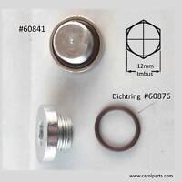 Iveco Oelablassschraube M22x1,5 + 2x Dichtring #60876 -(#60841)
