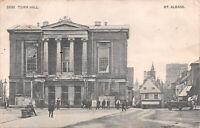 R249216 St. Albans. Town Hall. Postcard. 1908