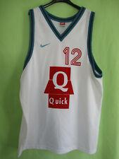 Maillot Basket Pau Orthez NIKE Vintage LNB Elan béarnais Porté #12 Vintage - XXL