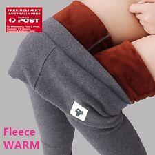 Women Cat Warm Fleece Velvet Thick thermal Winter Jeggings Leggings Pants 6-12