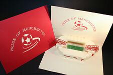 Manchester United - Pop up Stadium - Greeting Card