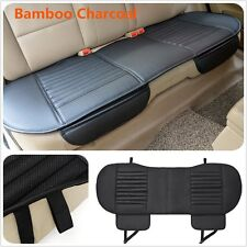 1Pcs PU Leather Breathable Bamboo Charcoal Car Chair Cover Seat Cushion Black