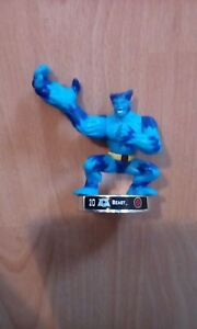 """Attacktix Marvel Action Figure """"Beast"""" Silver Base - HTF With Spring Action"""