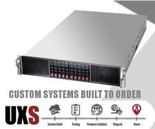 UXS Server Supermicro 2U GPU Crypto Miner Server Xeon E5-2697 V2 2.7Ghz 24 Cores