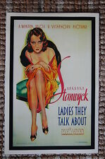 Lady They Talk About Lobby Card Movie Poster Barbara Stanwyck