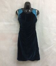 Karen Millen Ladies VELVET Midi Dress GREEN £110 UK 10/EU 38/US 6 (A 16)