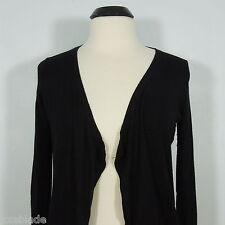 EXPRESS Women's Open Black Cardigan Sweater, 5% Cashmere size S