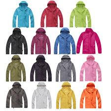 Waterproof Windproof Jacket Men Women Lightweight Rain Coat Oversized Outwear US