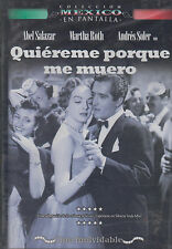 SEALED - Quiereme Porque Me Muero DVD NEW Abel Salazar SHIPS NOW !