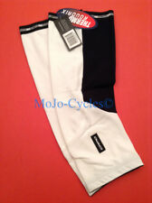 Capo Roubaix Cycling Knee Warmers White/Black Size Large / X-Large New