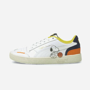 New Puma Ralph Sampsons x Peanuts 'Snoopy' Shoes Sneakers (37551601) - White