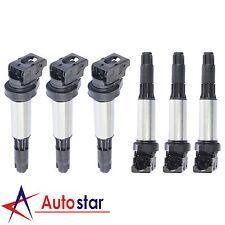New Set of 6 Ignition Coils For 2001-2010 BMW X3 X5 M3 Z3 L6 C1404 UF515 UF522