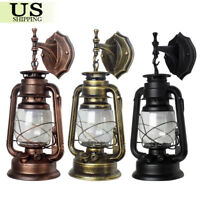 Vintage Industrial Wall Sconce Lamp Retro Glass Light Fixture Edison Antique