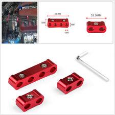 3Pcs Aluminum Car Engine Spark Plug Wire Separator Divider Organizer Clamp Kit