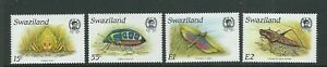 SWAZILAND 1988 INSECTS complete set of 4 (Sc 531-34) VF MNH