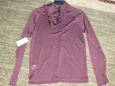 Men's Outdoor Life Performance Hoodie Shirt Bicycle Red Size Small