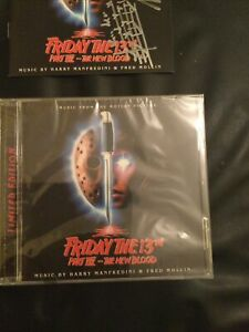 FRIDAY THE 13TH PART VII 7 THE NEW BLOOD,plus Signed Cover,film Soundtrack,ltd