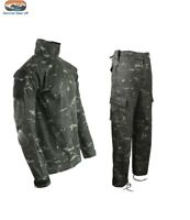 BTP Black Military Army Combat Trousers UBACS COMBO Tactical Camo Airsoft