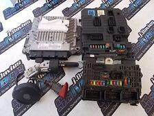 CITROEN C4 2.0 HDI 06 JDS REF-611  ECU SET KIT 96 633 841 80 9663384180 FREE P+P