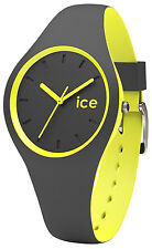ICE-WATCH Ice Duo Anthracite/Yellow Damenuhr 001486
