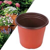 10/50pcs Plastic Nursery Pot Double Plant Seedling Holder Raising Block Pots New